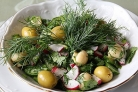 Салат с грибами шампиньонами консервированными