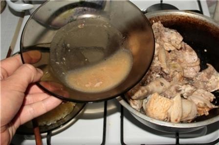 Чахохбили из курицы с картошкой - фото шаг 5
