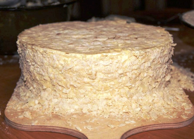 Торт на сковороде - фото шаг 5