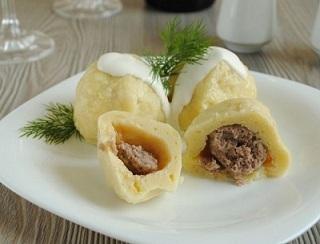 Клецки картофельные с мясом - фото шаг 5