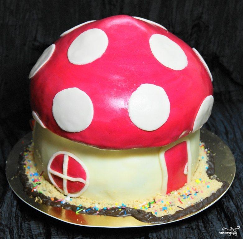 """Торт """"Грибок"""""""