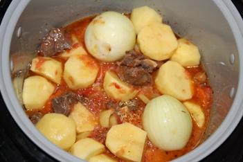 Суп из баранины в мультиварке - фото шаг 5
