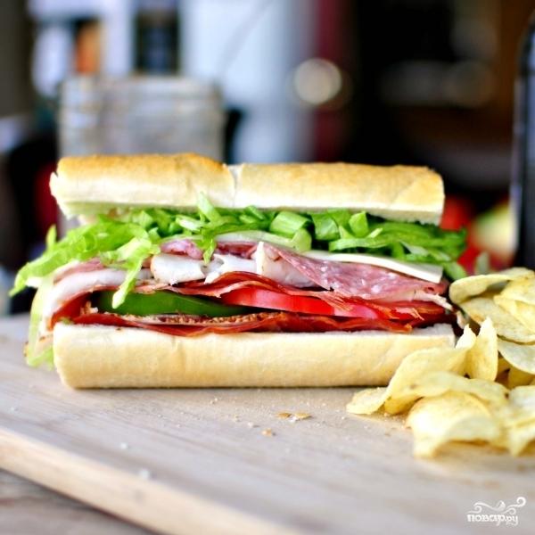 "Бутерброд ""Субмарина"" - фото шаг 10"