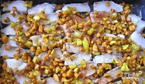 Рыба в картофельном пюре - фото шаг 2