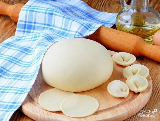 Вкусное тесто для пельменей - фото шаг 4