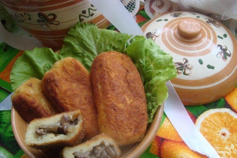 Рецепт Картопляники с грибами