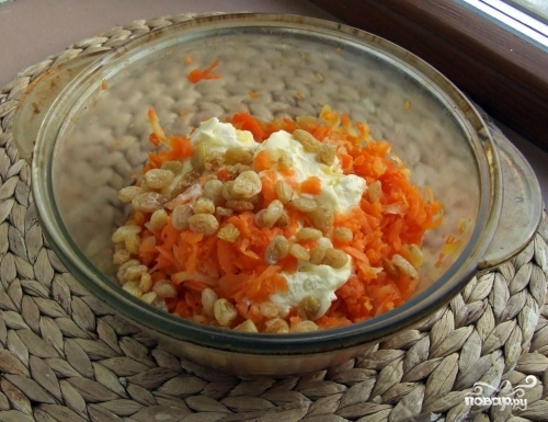 Морковная коврижка - фото шаг 1