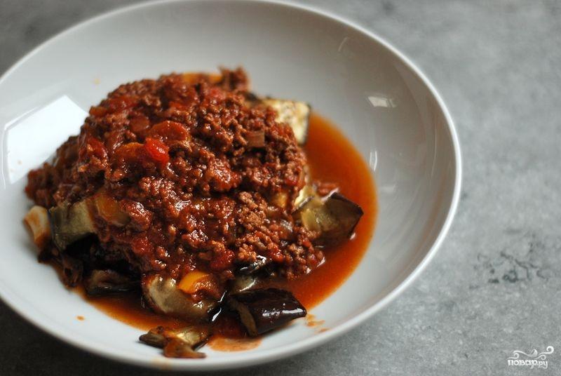 Рецепт Баклажаны по-турецки с мясом