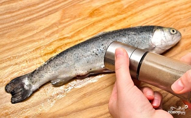 Рыба на гриле - фото шаг 3