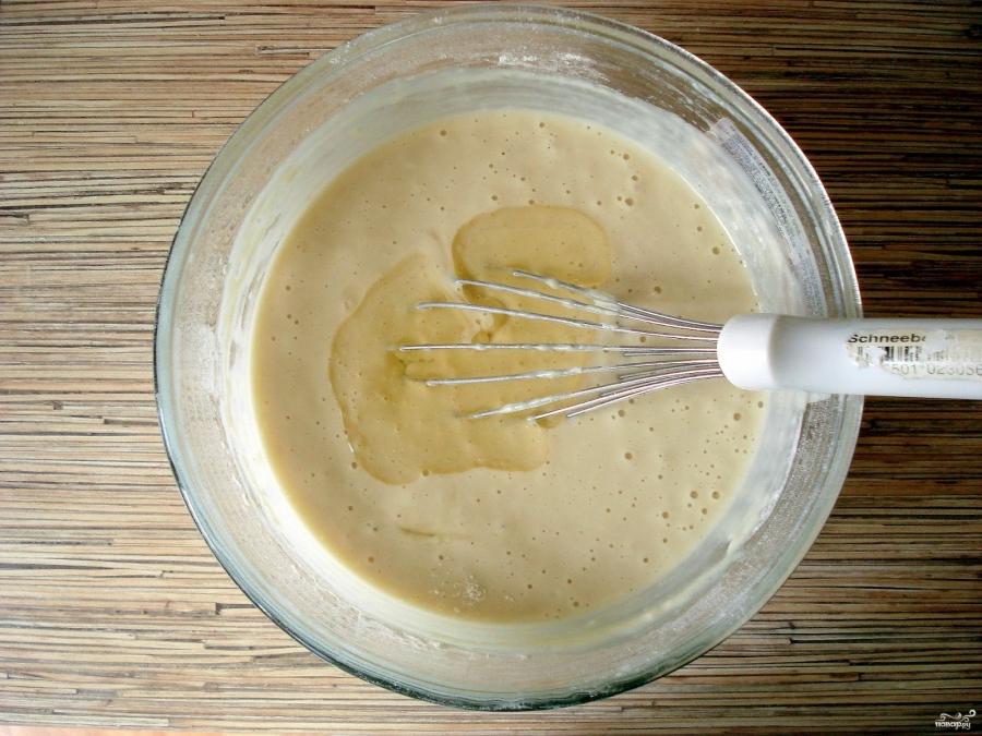 Блины обычные на молоке - фото шаг 5