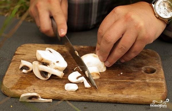 Скумбрия, запеченная с сыром - фото шаг 5