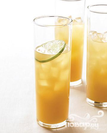 Рецепт Коктейль с ананасом и ромом