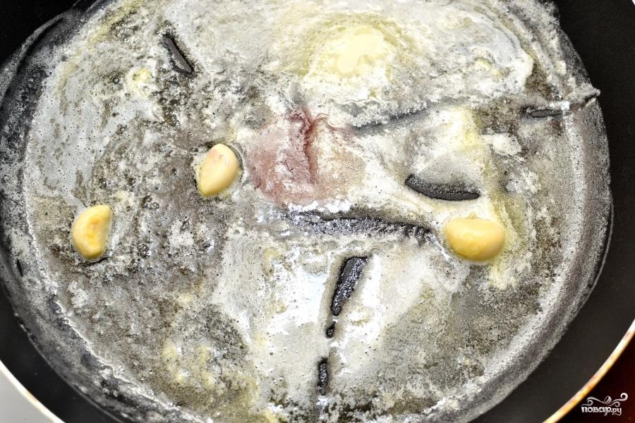 Рецепт Паста с креветками и соусом Альфредо