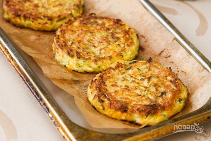 Оладьи из кабачков в духовке рецепты диетические