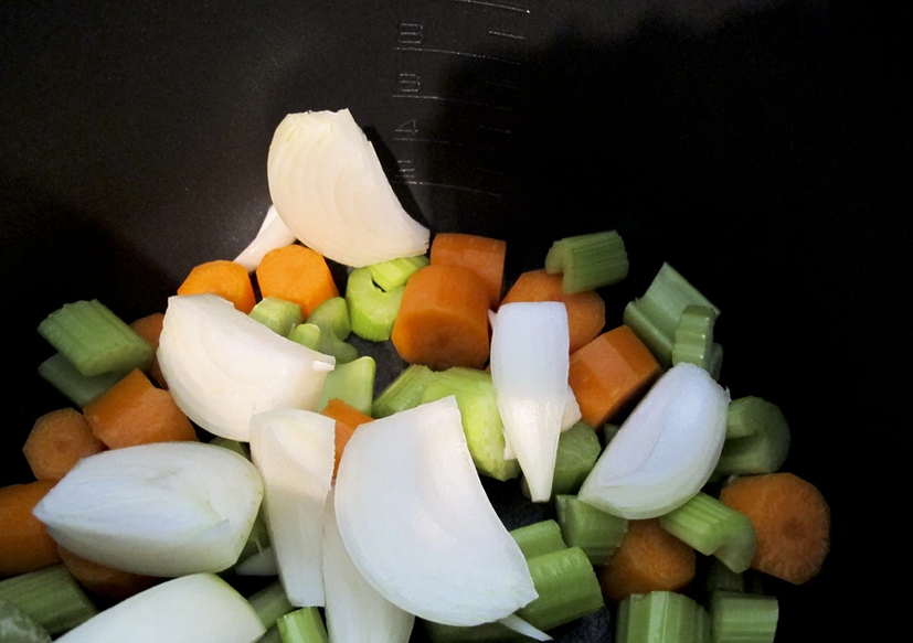 Рецепт Ромштекс с овощами