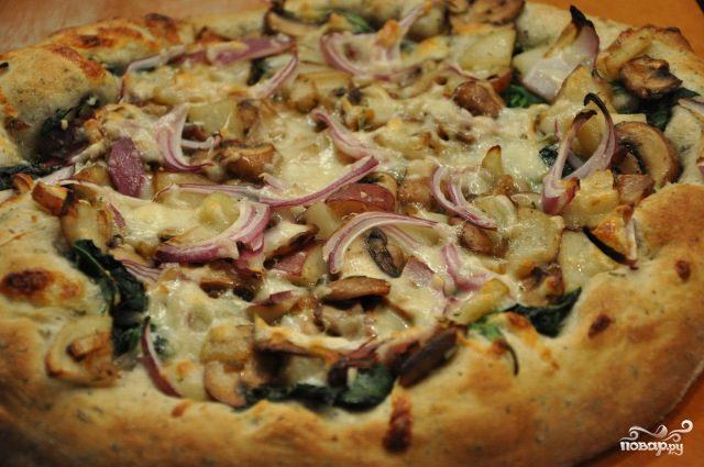 Рецепты пиццы с картошкой в домашних условиях