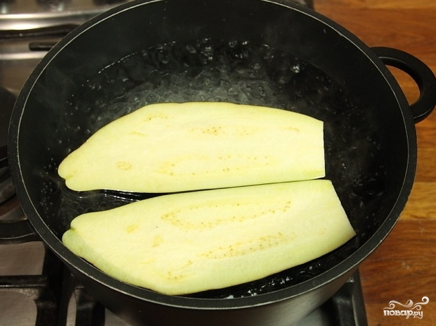 Рецепт Вареные баклажаны