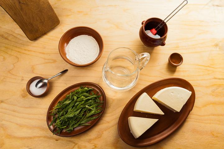 Рецепт Азербайджанские чебуреки с зеленью
