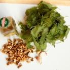 Рецепт Гренки с крапивой