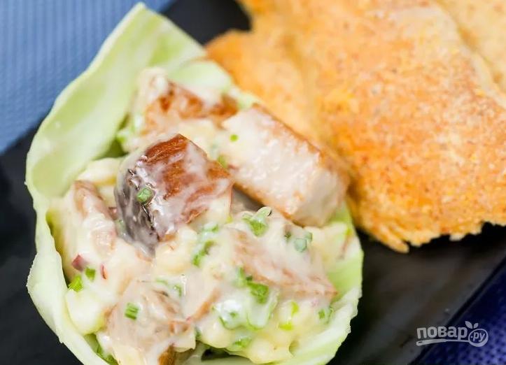рыбный салат фото рецепт легкий