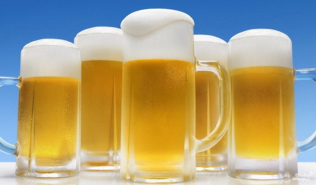 Рецепт Домашнее пиво летнее