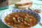 Суп рисовый со свининой