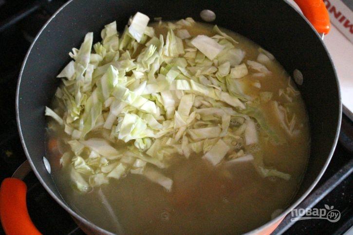 Суп из капусты с мясом