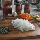 Рецепт Суп-пюре с фасолью и ветчиной
