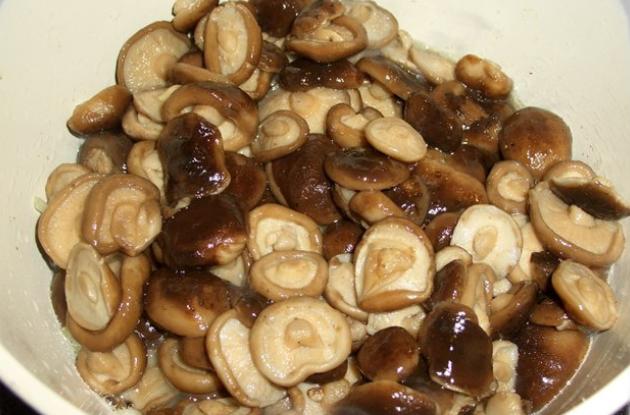Рецепт Грибочки по-корейски