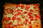 Диетическая пицца без муки