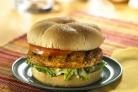 Вегетарианский бургер на скорую руку