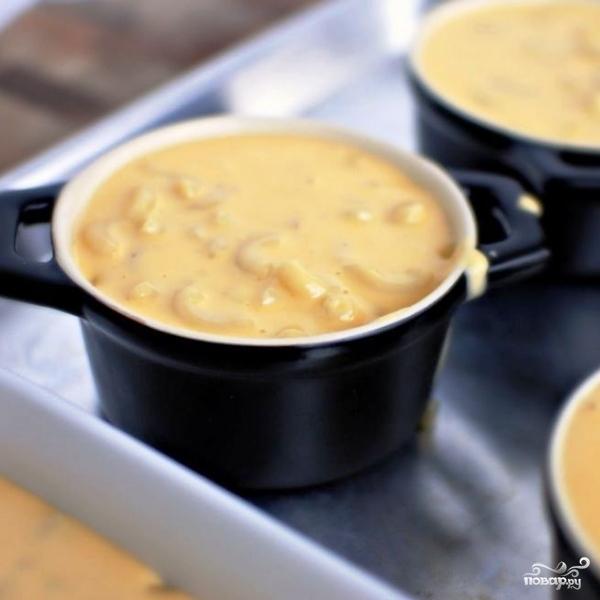 Запеканка с макаронами и сыром - фото шаг 13