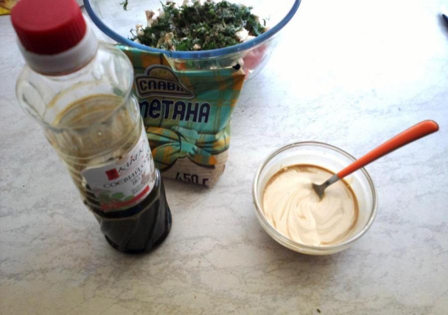 Салат за 10 минут - фото шаг 4