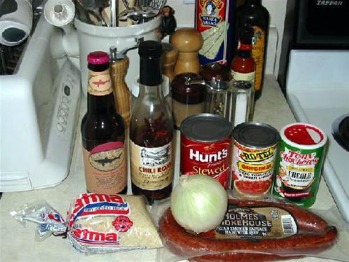 Креольские сосиски  - фото шаг 1