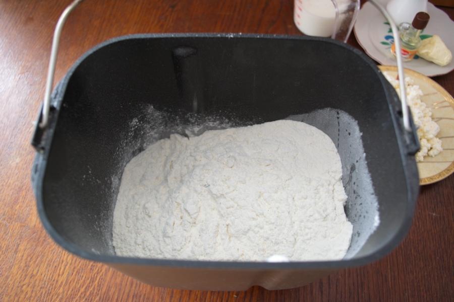 Кулич творожный в хлебопечке - фото шаг 2