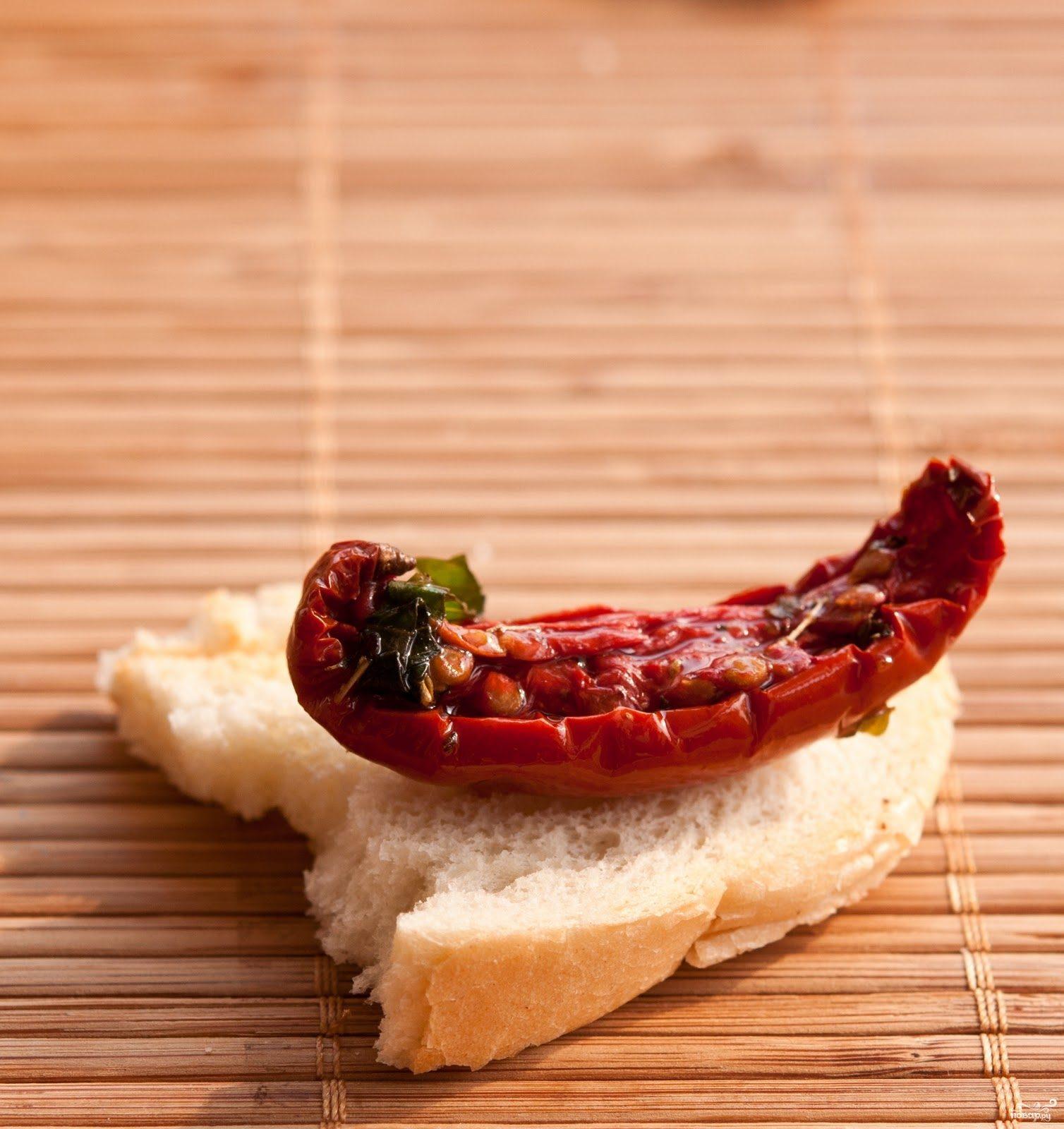 Рецепт Помидоры сушеные по-итальянски