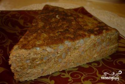 Печеночный пирог в мультиварке