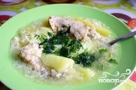 Рецепт Куриный суп с картофелем