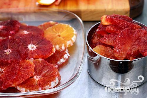 Пирог с красными апельсинами - фото шаг 2