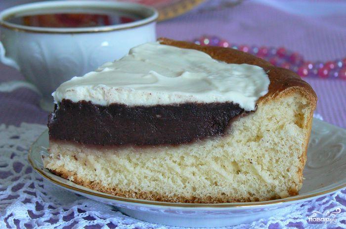 Торт с ирисками рецепт с фото