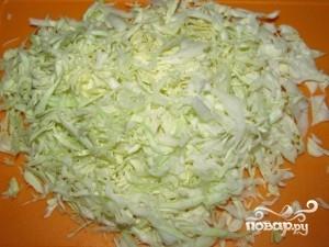 Салат из капусты и редиса - фото шаг 1