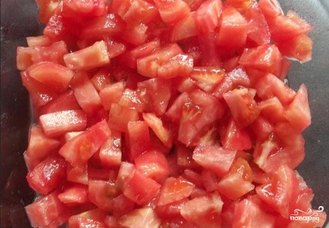 Грузинский салат с помидорами - фото шаг 2