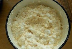 Запеканка из риса и творога - фото шаг 5