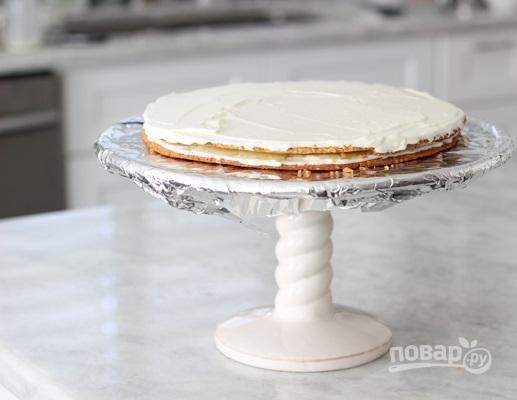 Тонкие коржи для торта