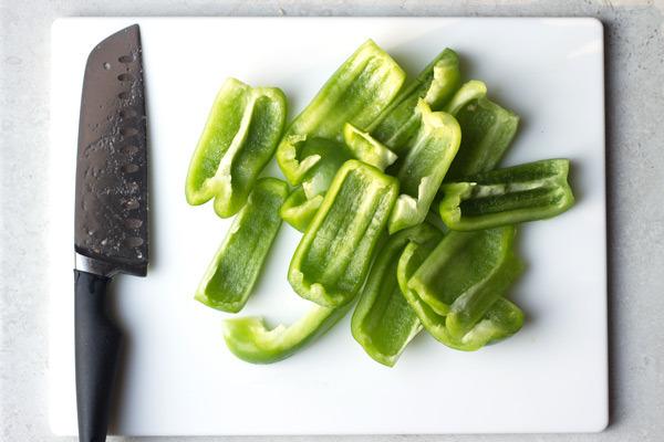 Жареные баклажаны с овощами - фото шаг 2