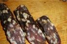 Сыровяленая колбаса в домашних условиях