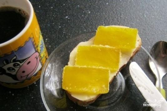 "Рецепт Бутерброд с мармеладом ""Детский"""
