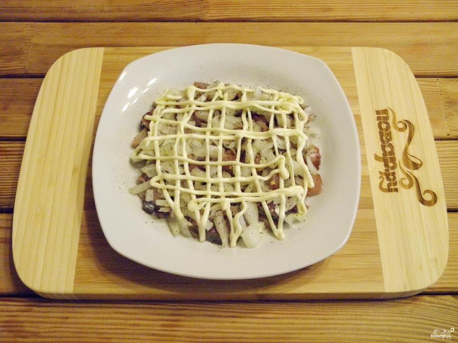 салат под шубой без селедки фото рецепт