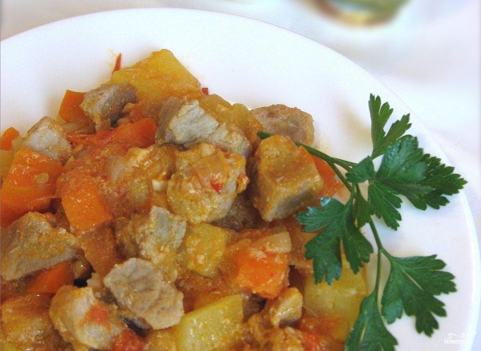 Мясо баклажаны картофель рецепты