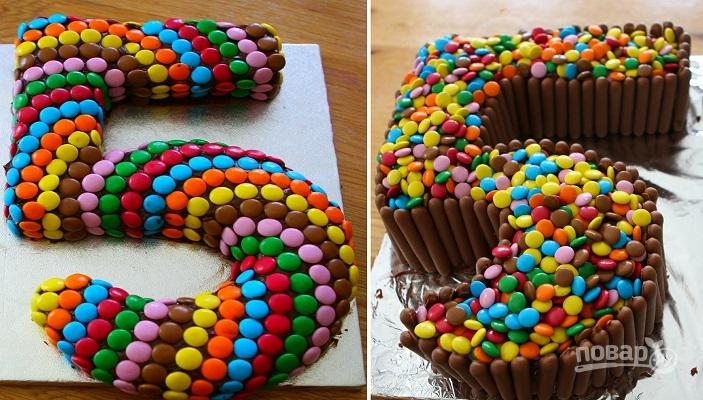 Торт на пять лет девочке своими руками 42